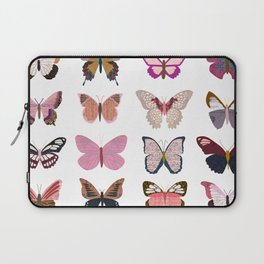 Pink Butterflies Laptop Sleeve