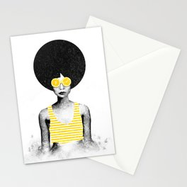 Lemon Jazz Stationery Cards