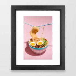 Loose Knit Framed Art Print