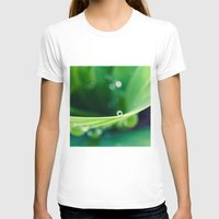 bubbles T-shirts featuring bubbles by Bonnie Jakobsen-Martin