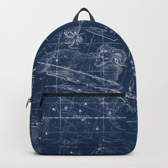 Aries sky star map Backpack