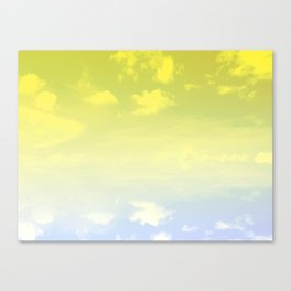 Hues of the Sky Canvas Print