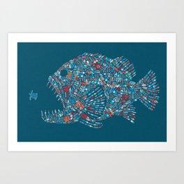 Killer Plastic Art Print