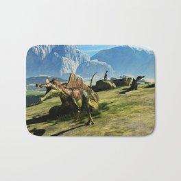Ichthyovenator Dinosaur Bath Mat