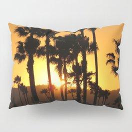 Palm Tree Hill Sunset Pillow Sham