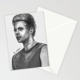 LH Pencil Portrait Stationery Cards