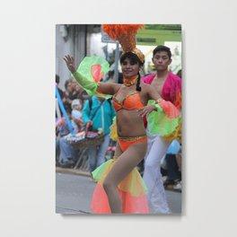 Carnaval Carnival Festival Dancer Metal Print