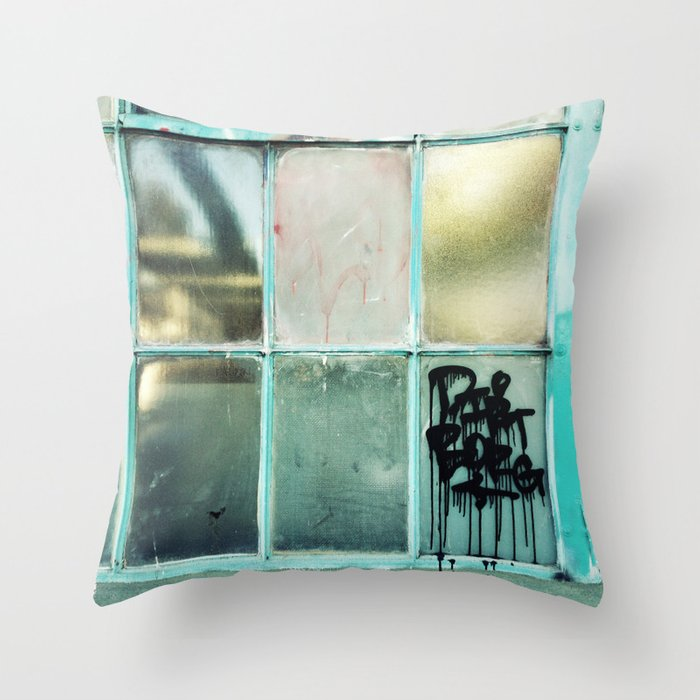 Window One A Throw Pillow