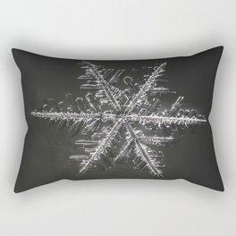 January Snowflake #4 Rectangular Pillow