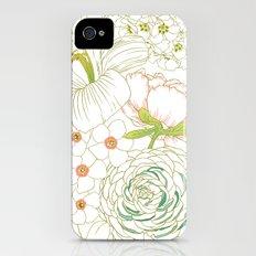 Big Blooms iPhone (4, 4s) Slim Case