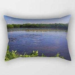 A Peaceful Mind Rectangular Pillow