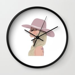 Joanne Lady Wall Clock