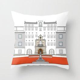 Colegio Santa Rosa de Lima Throw Pillow