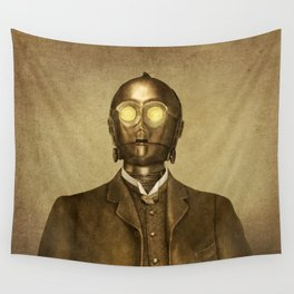 Baron Von Three PO Wall Tapestry