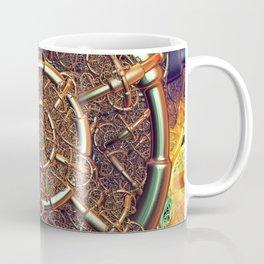 Golden metal abstract Coffee Mug