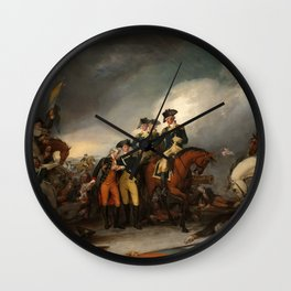 The Capture of the Hessians at Trenton, December 26, 1776 Wall Clock