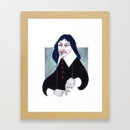 René Descartes Framed Art Print