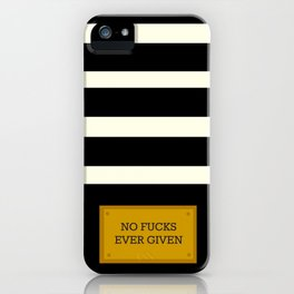 Gold Plated Nonsense iPhone Case