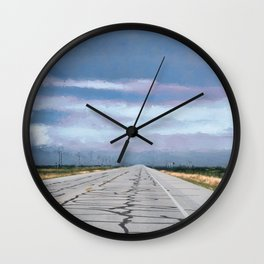 Somewhere Along The Way Wall Clock