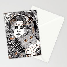 Capable Cat Stationery Cards