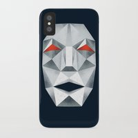 starfox iPhone & iPod Cases featuring Star Fox Andross Lylat Lowpoly Laugher by Barrett Biggers