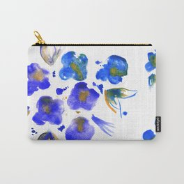 Ghost Violets Carry-All Pouch