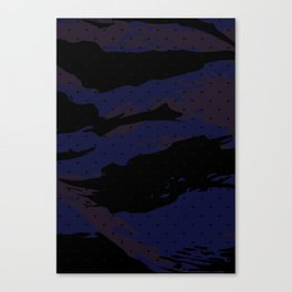 Dot Tiger Camouflage Canvas Print