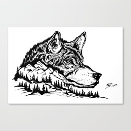 Mt. Lupus Canvas Print