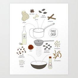 Chili Crisp Art Print