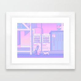 Vending Machines Framed Art Print