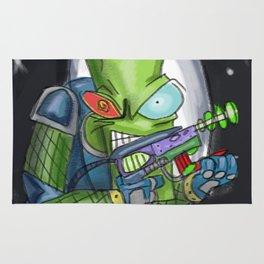 Martian Warlord Rug