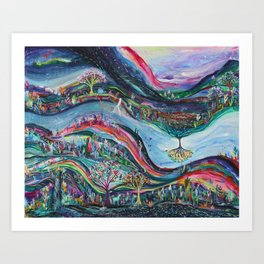 Shifting Energies Art Print