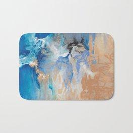 Blue Monday - by Jenny Bagwill Bath Mat
