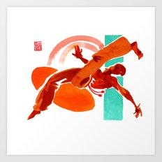 Capoeira 441 Art Print