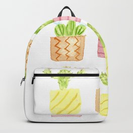 Potted Succulents Backpack