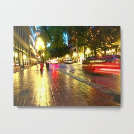 They Only Come Out At Night Metal Print