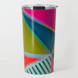 MODERN ART | VIBRANT DESIGN | ABSTRACT | CONTEMPORARY STUDIO | NEW | GRAPHIC ART Travel Mug