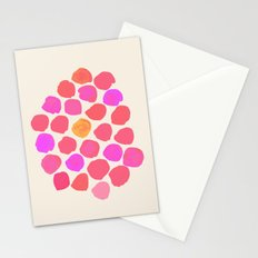 Coral & Pink Stationery Cards