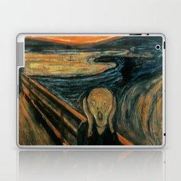 The Scream - Edvard Munch Laptop & iPad Skin