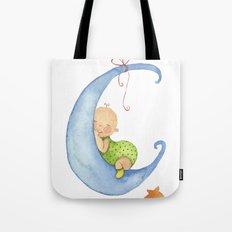 Baby moon Tote Bag