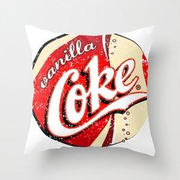 Sweet vanilla Throw Pillow