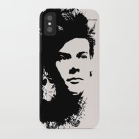 harry styles iPhone & iPod Cases featuring Harry Styles by Aki-anyway