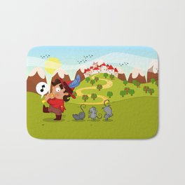 The Pied Piper of Hamelin  Bath Mat