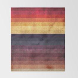 Eccentric Spectrum Throw Blanket