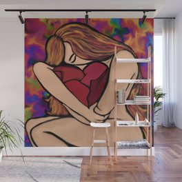 Strong and Brokenhearted Wall Mural