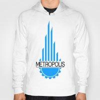 metropolis Hoodies featuring Metropolis by junaputra