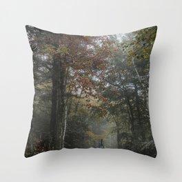 Minnewaska State Park Throw Pillow