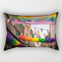 LGBT Pride Street Scene Rectangular Pillow