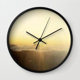 Haleakala House of the Sun Wall Clock
