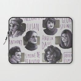 Portraits of feminism Laptop Sleeve